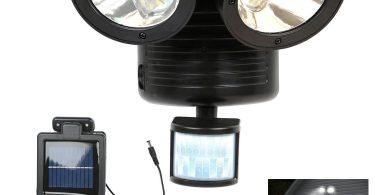 double projecteur led extérieur