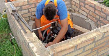 installation d'une pompe de relevage