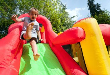aménager une aire de jeux pour enfants