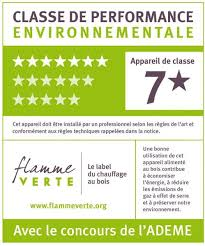 certification flamme verte 7*