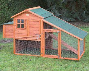 Poulailler Oxford – poulailler avec volière 4 à 6 poules