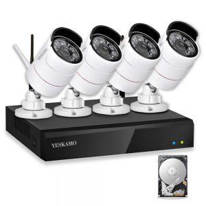 caméra de surveillance sans fil
