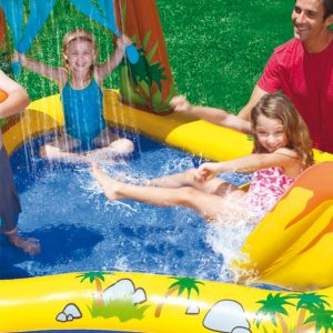 chateau gonflable avec piscine