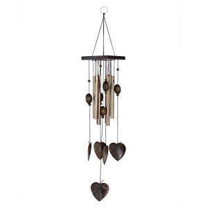 Le carillon à vent décoratif tubes en métal