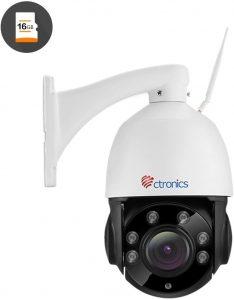 caméra de surveillance Wi-Fi de la marque Ctronics