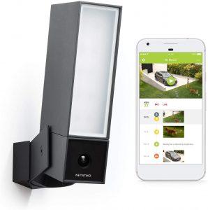 caméra de surveillance extérieure Présence de la marque Netatmo