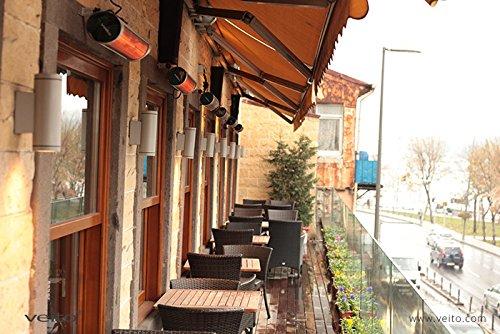 chauffage extérieur pour restaurant