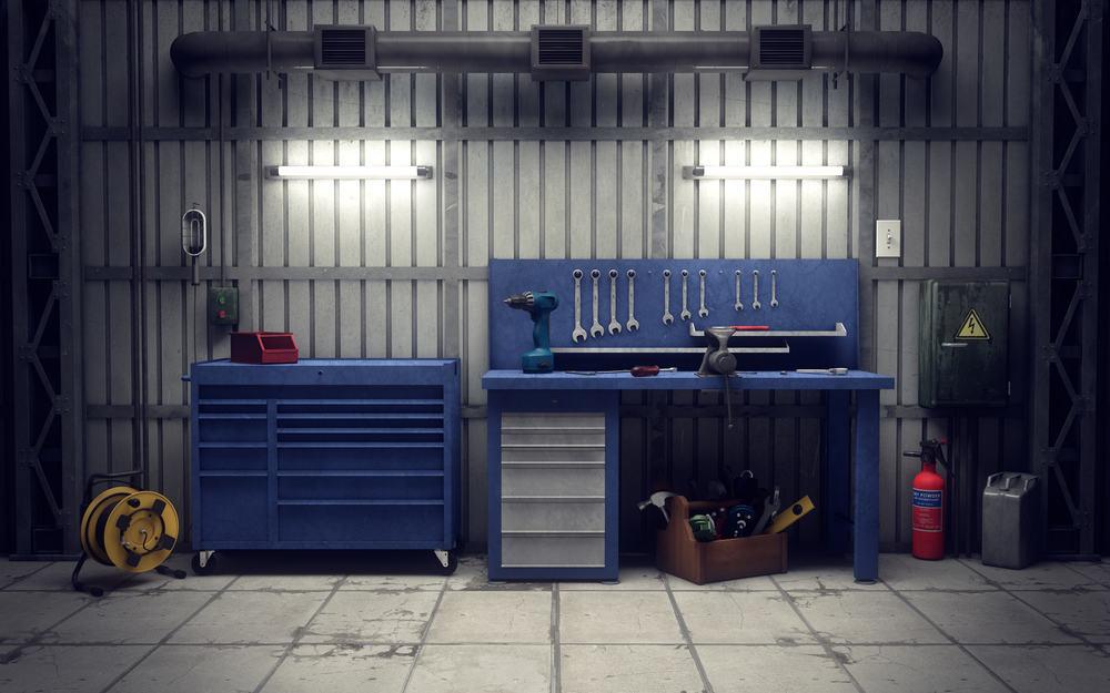 comment installer un atelier dans son garage