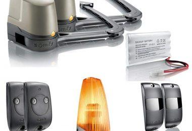 Que vaut le kit de motorisation de portail à bras Somfy Evolvia400