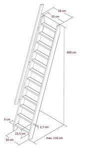 Escalier escamotable EasyStep