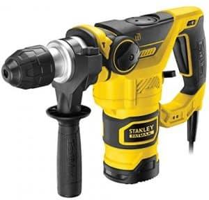 marteau perforateur électrique filaire Stanley FME1250K, 1250 W SDS-Plus