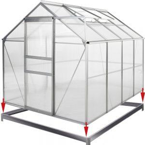 avis serre de jardin en alu 7,6 m³