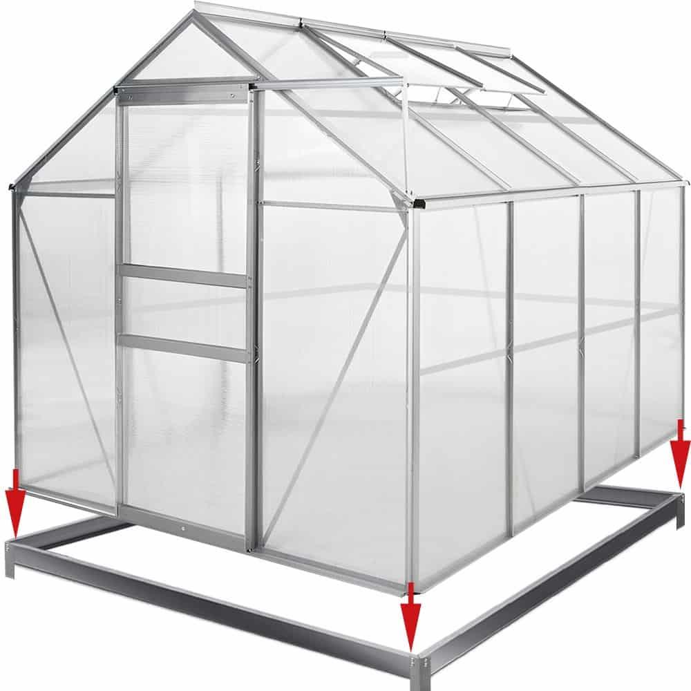 Avis serre de jardin alu et polycarbonate : Que vaut ce modèle ?