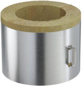 Conduit Poujoulat pour poêle a pellets coquille isolante plafond