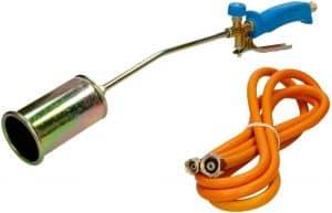 chalumeau à gaz avec régulateur de pression