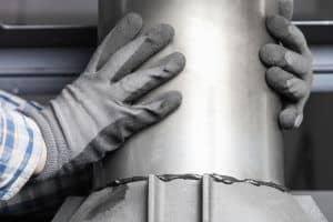 installation conduit de cheminée