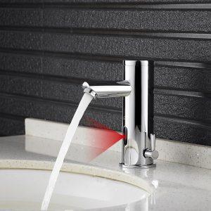 Auralum Mitigeur lavabo automatique à infrarouge