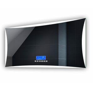 Blanc Froid Horizontale Illumination LED Miroir sur Mesure