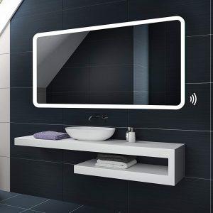 Meilleur miroir de salle de bain connecté : Le comparatif de ...