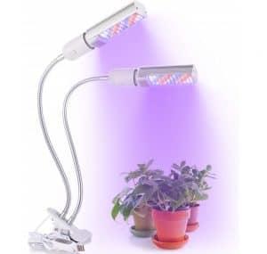 La lampe de croissance à double tête 20W 88 LED LONGKO