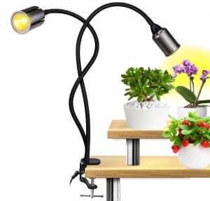 La lampe de croissance à double tête Relassy