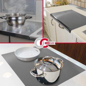 La planche de travail de cuisine en acier inoxydable satiné OneClod