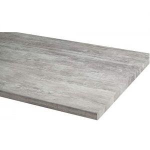 Le plan de travail de cuisine béton MODULOCUISINE 200 x 90 cm