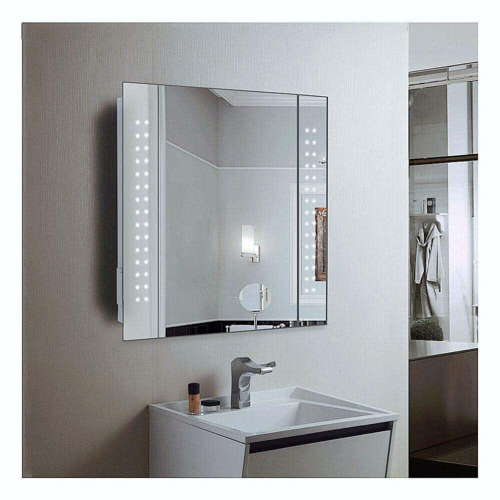 meilleur miroir de salle de bain connect le comparatif. Black Bedroom Furniture Sets. Home Design Ideas
