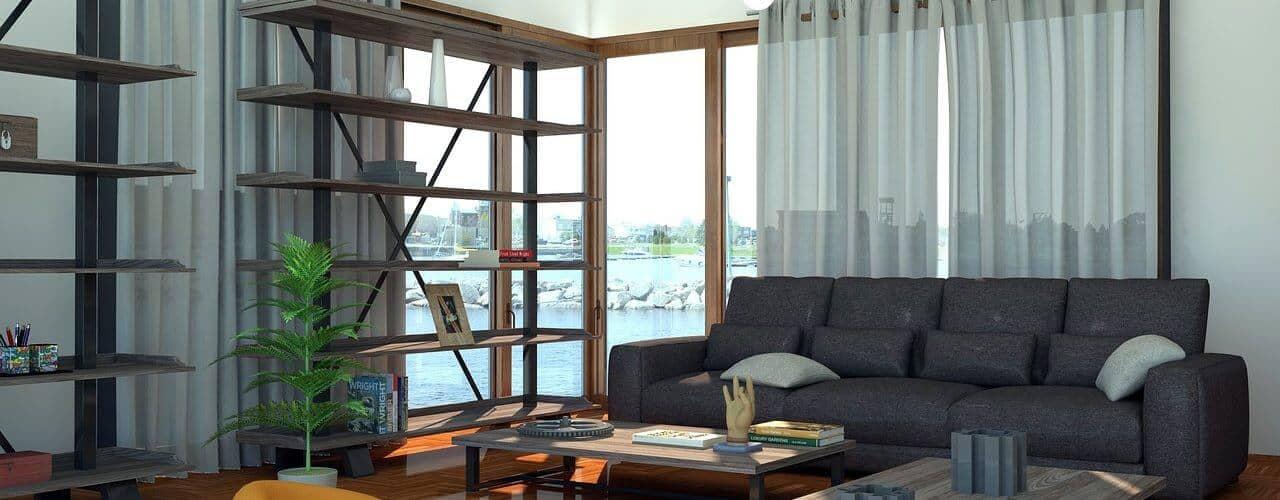 baie vitrée d'angle