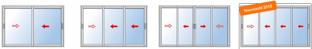 Choisir le nombre de vantaux sur une baie vitrée