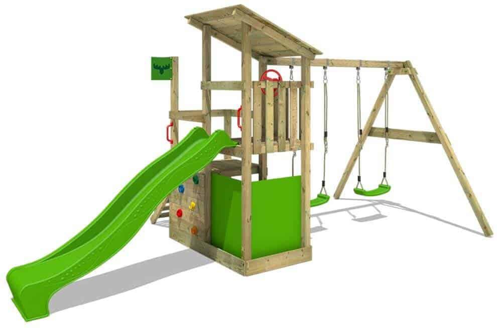 meilleure cabane pour enfant avec toboggan et balançoire