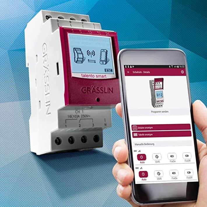 Horloge modulaire Bluetooth Grässlin Talento Smart B15