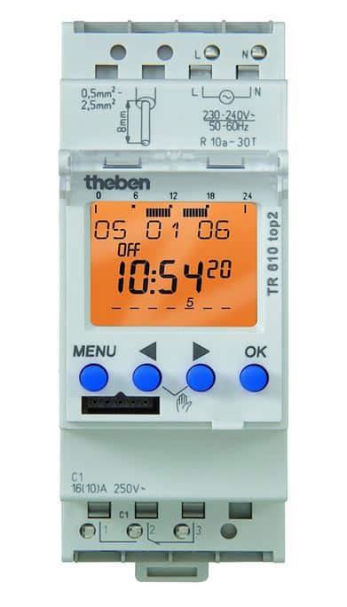 Horloge modulaire digitale pour LED Theben
