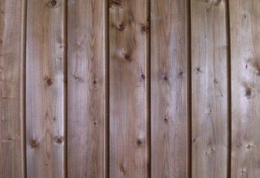 bardage en bois