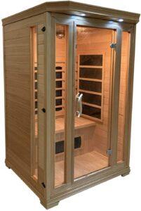 Sauna infrarouge Helsinki 2 places de Happy Garden